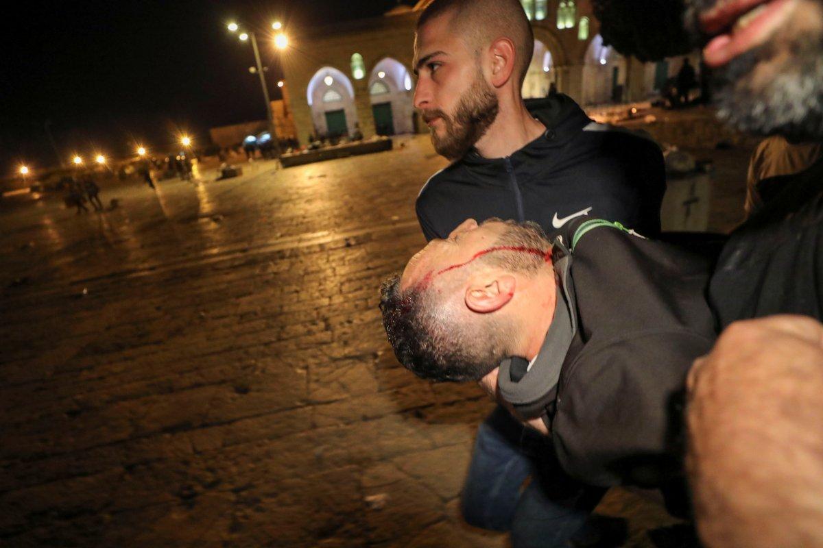 Doğu Kudüs te İsrail terörü #1