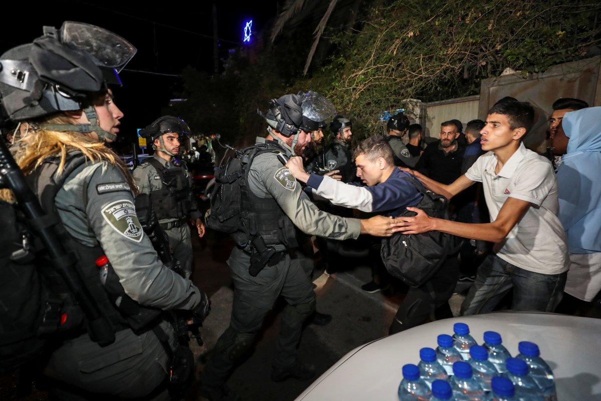 Doğu Kudüs te İsrail terörü #10