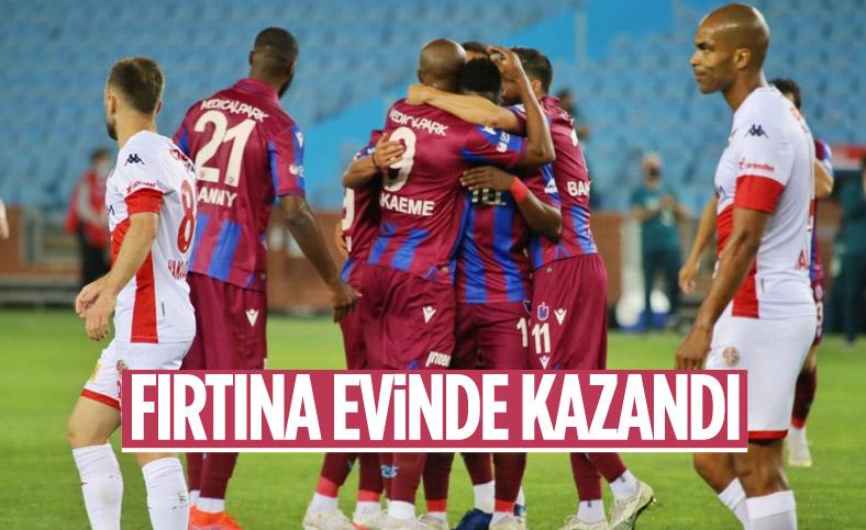 Trabzonspor evinde Antalyaspor'u yendi