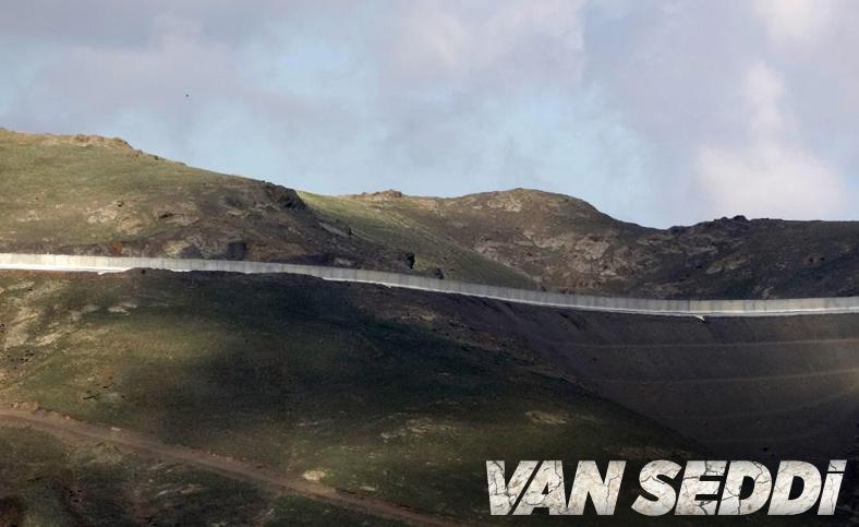Van'ın İran sınırı 64 kilometrelik duvarla güçlendiriliyor