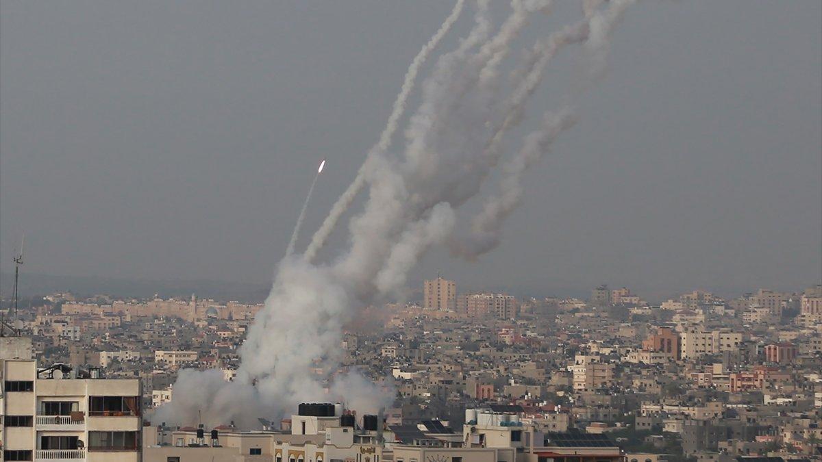 Gazze'den Batı Kudüs'e roket atıldı