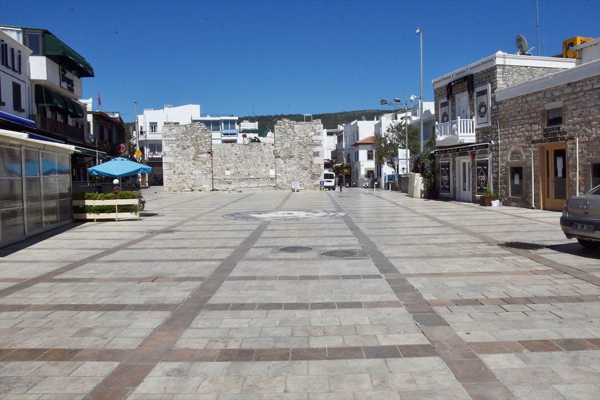 Antalya ve Muğla da tam kapanma sessizliği sürüyor #3