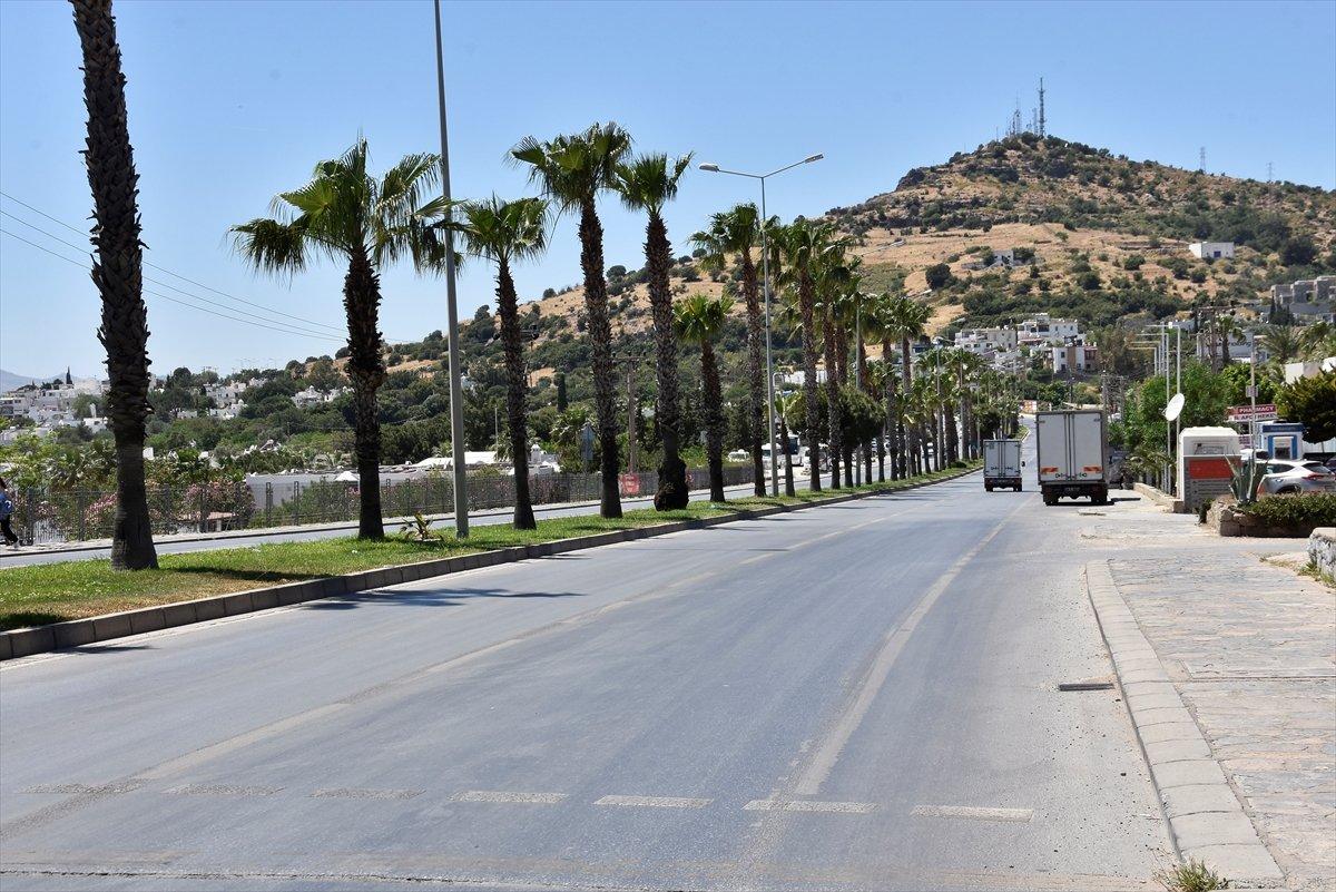 Antalya ve Muğla da tam kapanma sessizliği sürüyor #7
