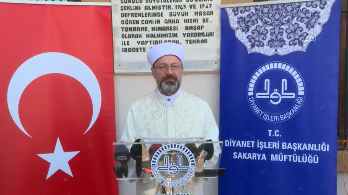 Prof. Dr. Ali Erbaş: Filistin halkına karşı büyük bir soykırım yapılmaktadır #3