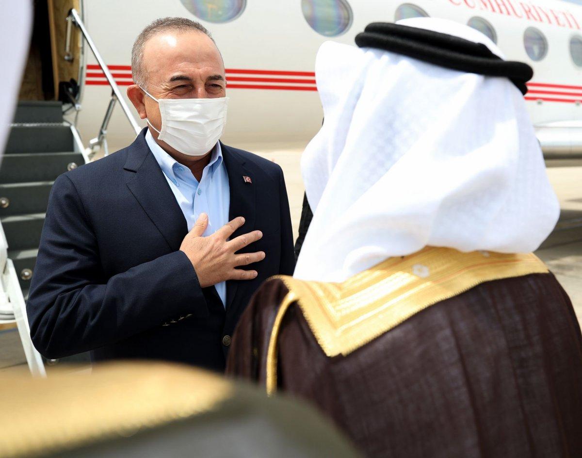 Mevlüt Çavuşoğlu, Suudi Arabistan a gitti #1