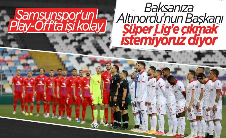 Seyit Mehmet Özkan: Altınordu Süper Lig'e çıksın istemiyorum
