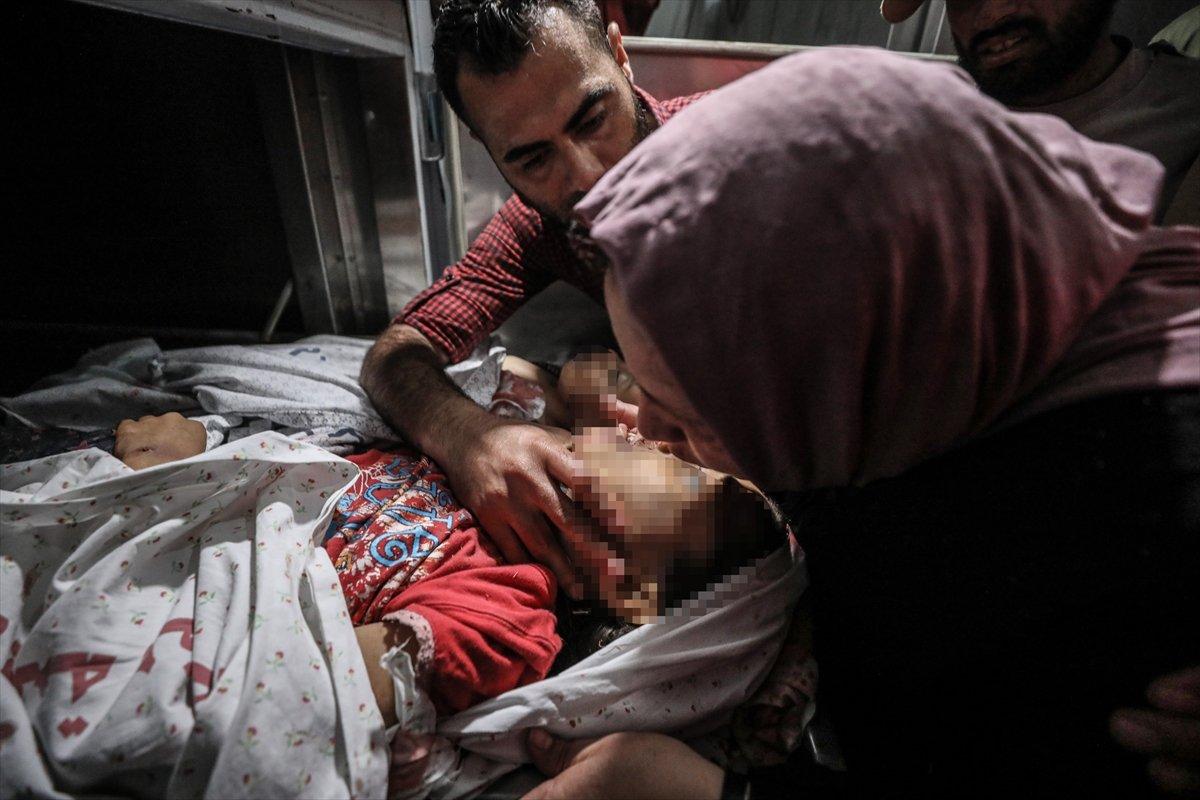 İsrail, Filistin e hava saldırısı düzenledi #1