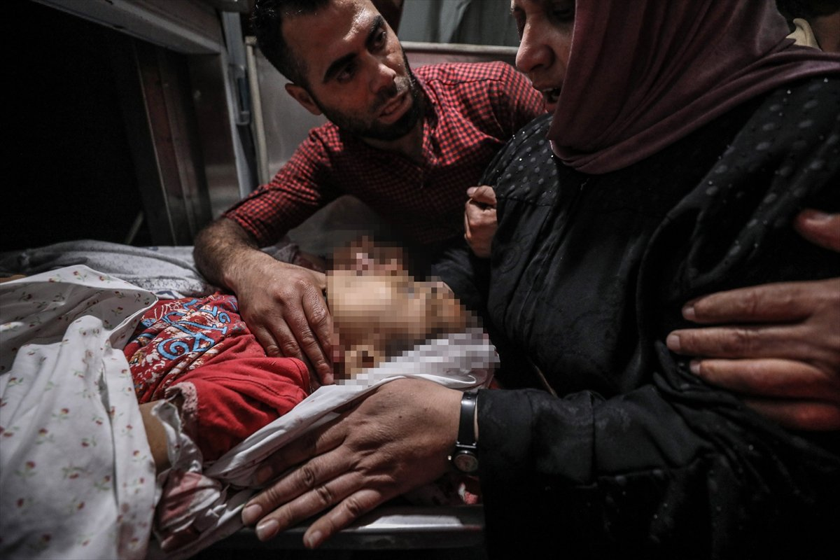İsrail, Filistin e hava saldırısı düzenledi #3