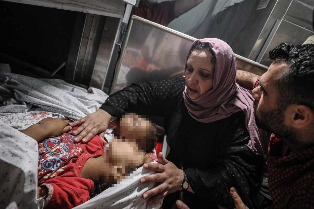 İsrail, Filistin e hava saldırısı düzenledi #6