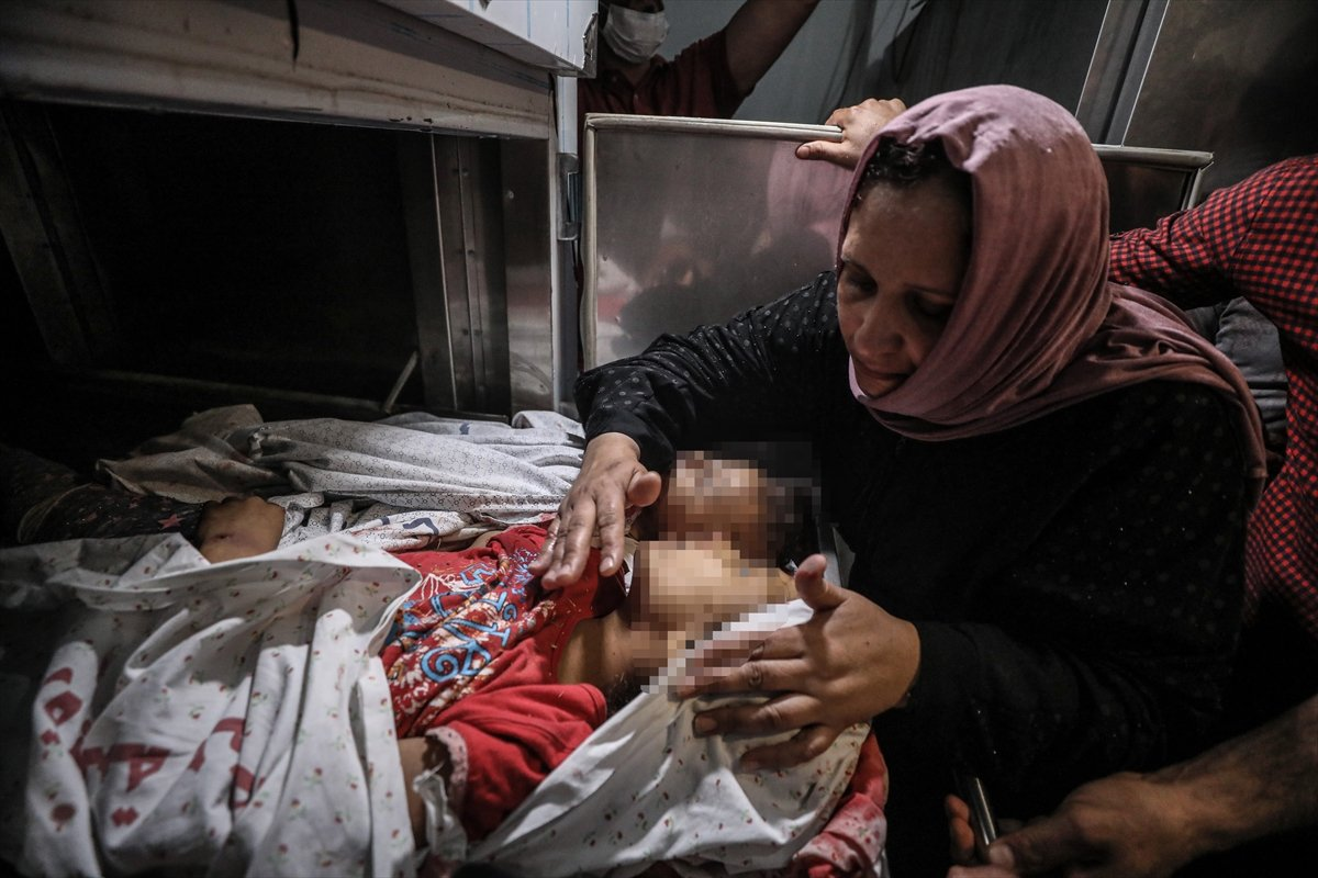 İsrail, Filistin e hava saldırısı düzenledi #5