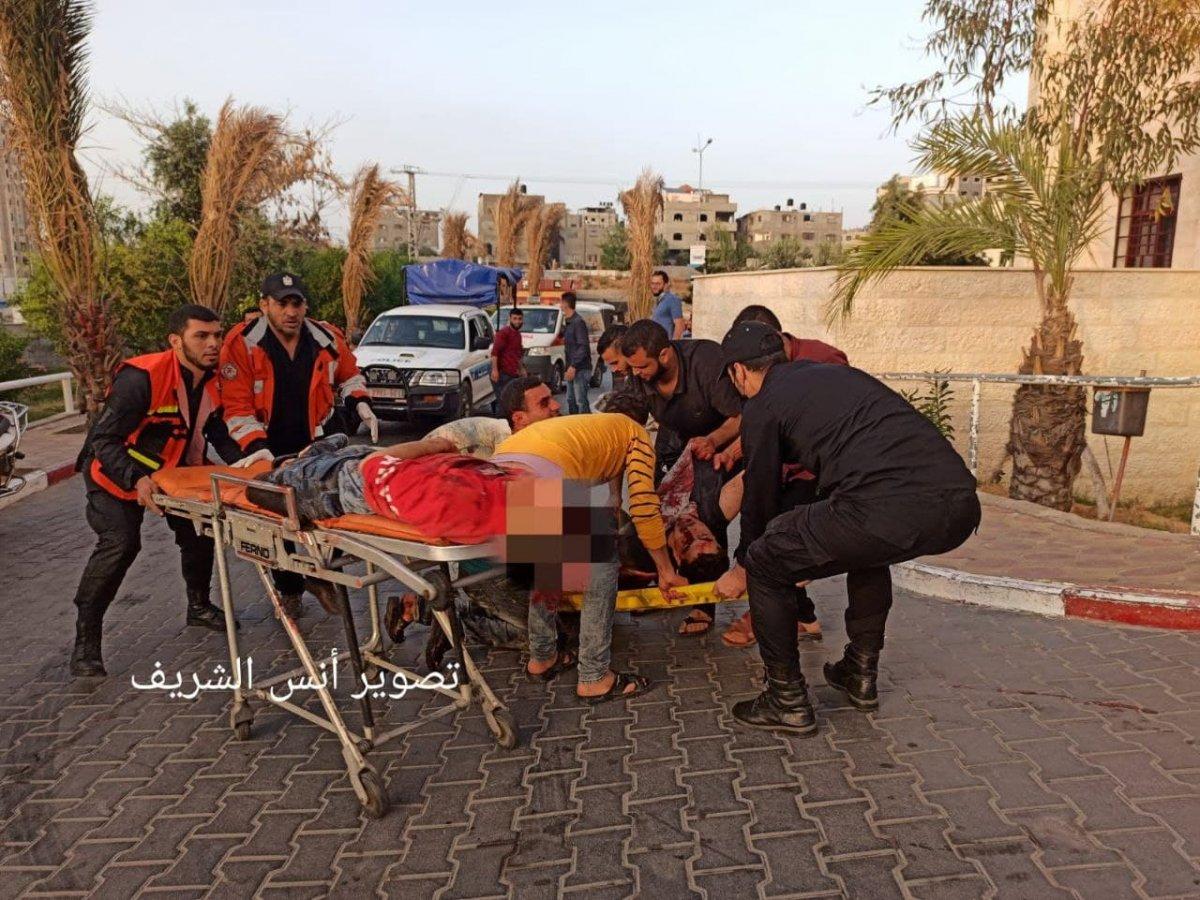 Filistin de 3 ü çocuk 9 kişi İsrail tarafından öldürüldü  #1