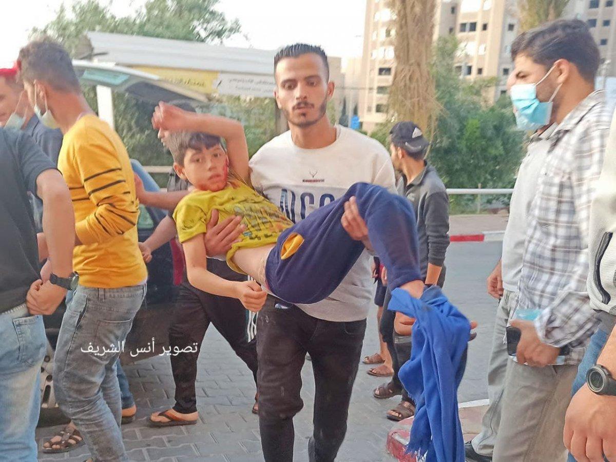Filistin de 3 ü çocuk 9 kişi İsrail tarafından öldürüldü  #3