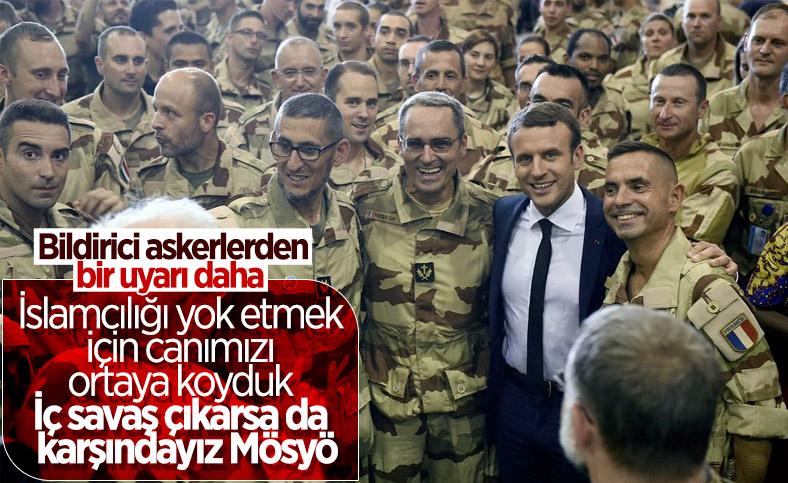 Fransa'da askerler, ikinci bir bildiri yayınladı