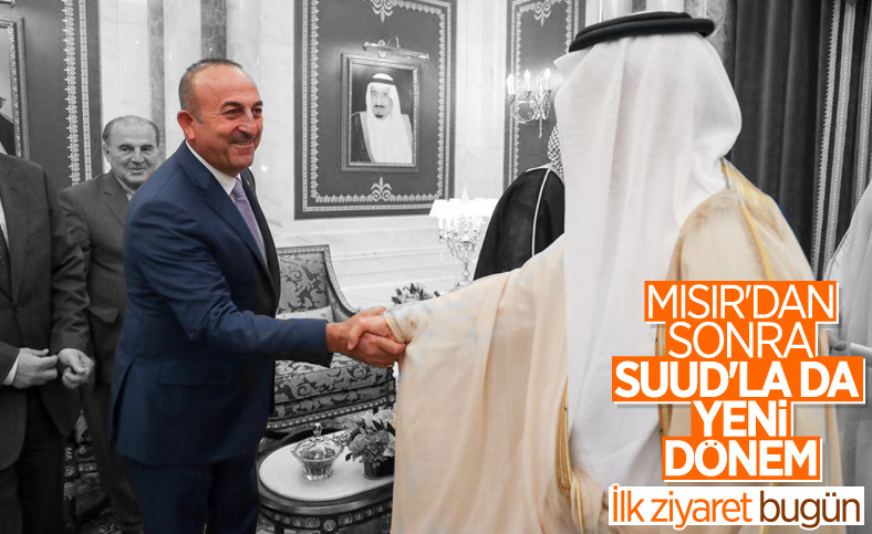 Mevlüt Çavuşoğlu, Suudi Arabistan'a gitti