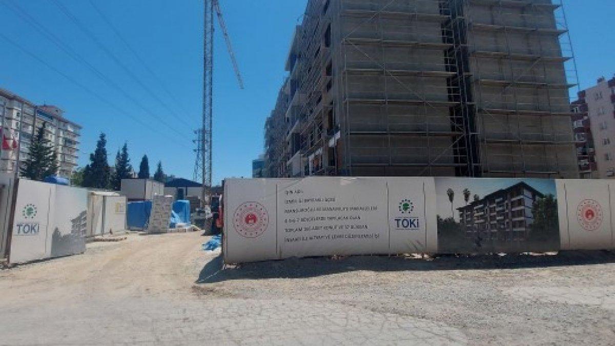 İzmir'de depremde yıkılan binaların yerinde yenileri yükseliyor