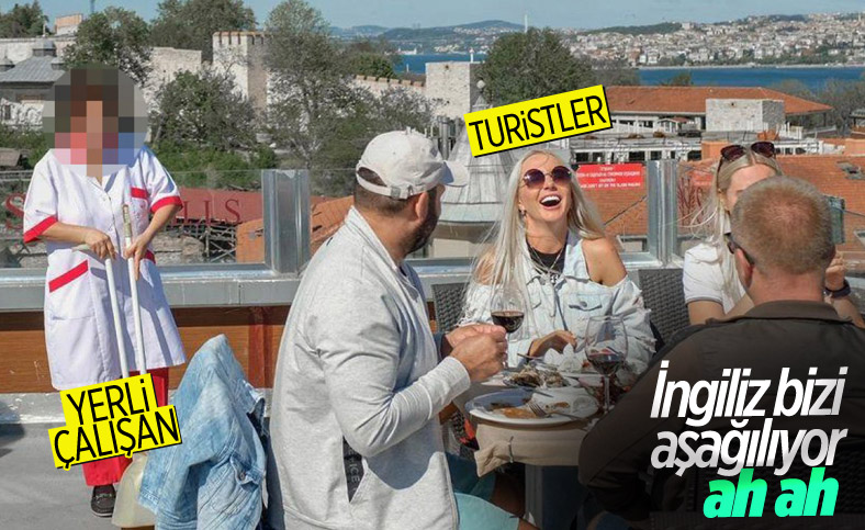 BBC Türkçe, tam kapanmada turistlere hizmet eden personele dikkat çekti