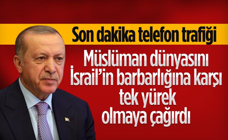 Cumhurbaşkanı Erdoğan, İslam ülkeleriyle Kudüs'ü görüştü