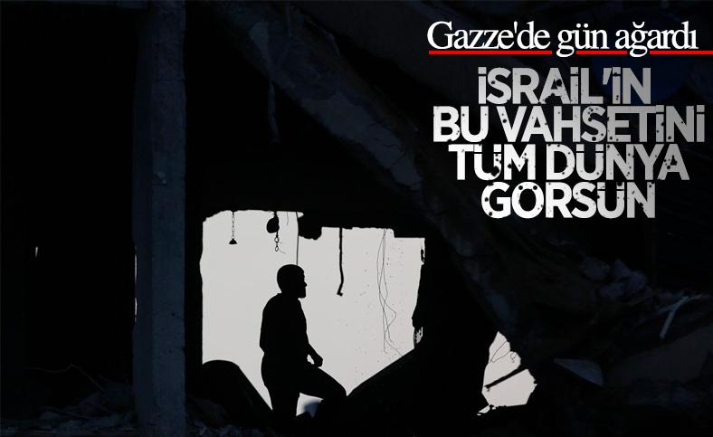 İsrail, Gazze'de yerleşim yerlerine saldırdı
