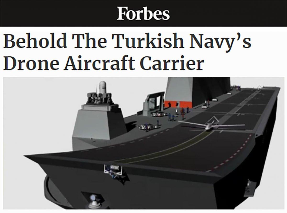 Forbes: Türkiye, dünyanın ilk SİHA gemisine sahip olabilir #3