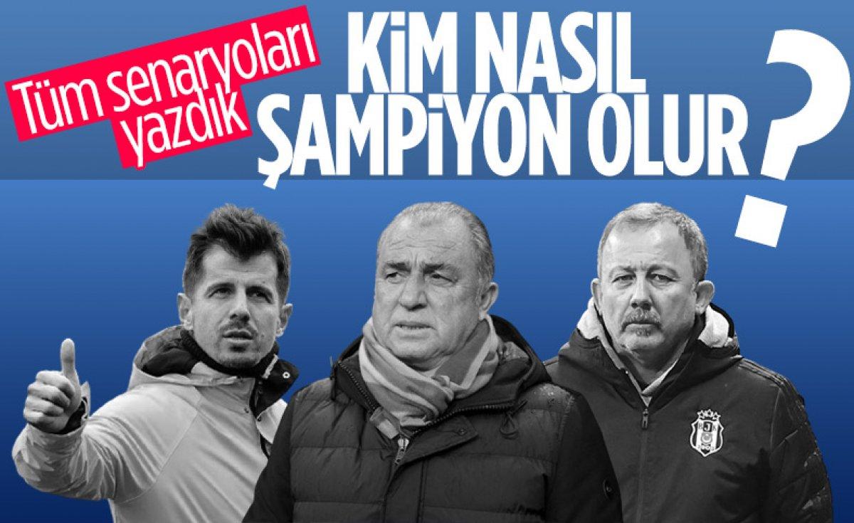 Süper Lig de bu akşam şampiyonluk heyecanı yaşanacak #3