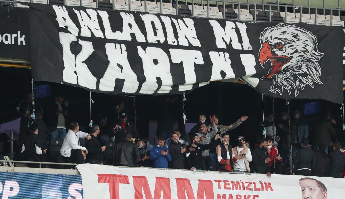 Beşiktaş-Karagümrük maçına seyirci alındı #3
