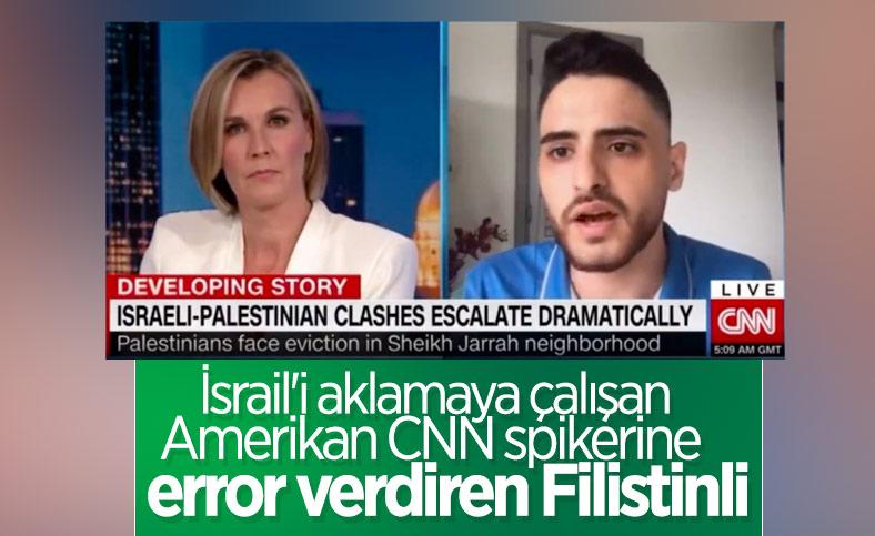 CNN sunucusu ile Filistinli genç arasındaki çarpıcı diyalog
