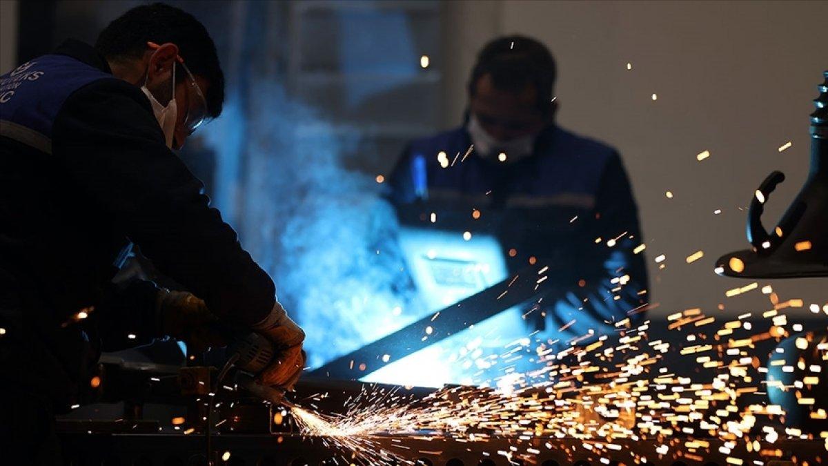Mart ayı sanayi ve üretim endeksi yıllık bazda yüzde 16,6 yükseldi #1