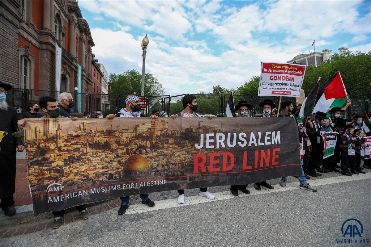 ABD de Filistinli Müslümanlar için destek yürüyüşü #8