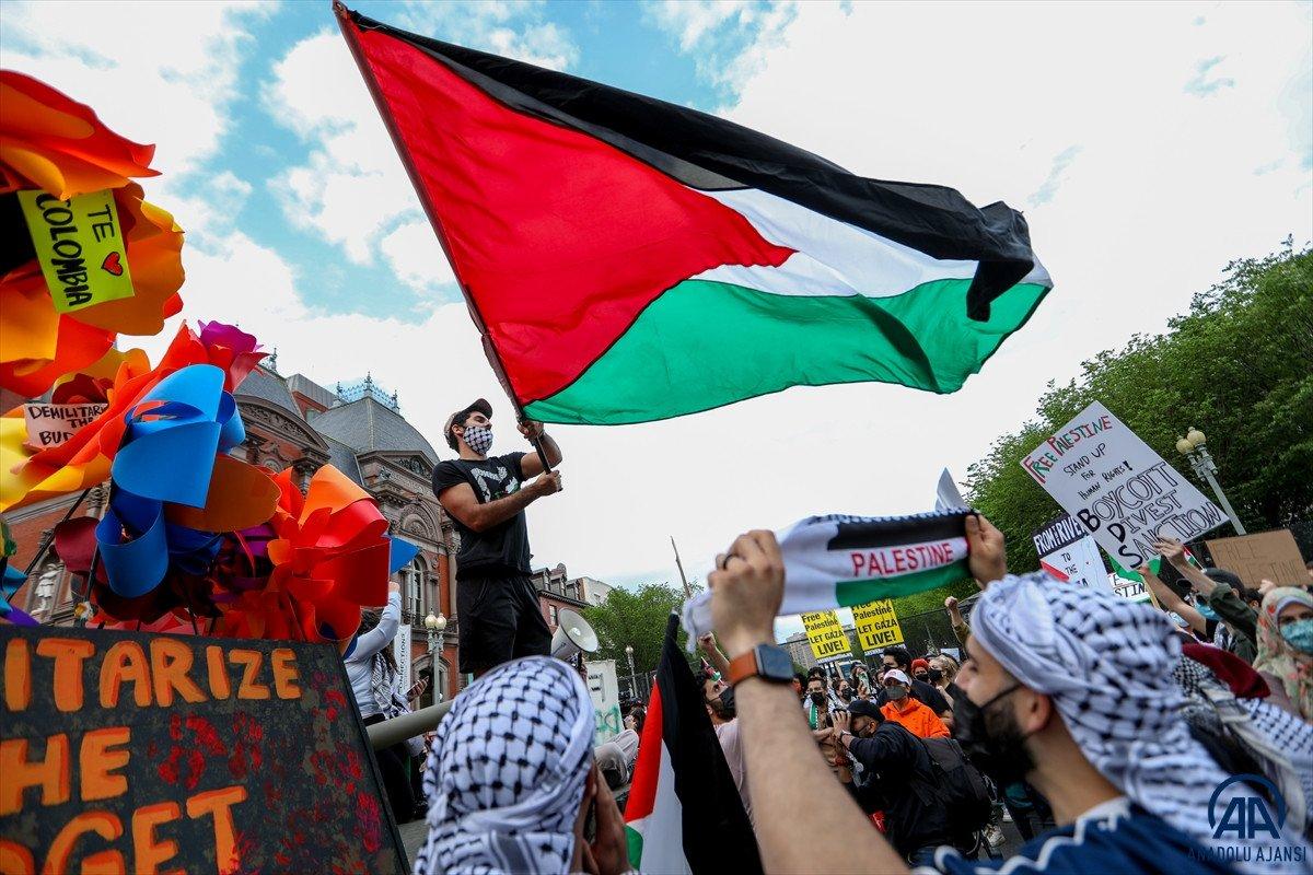 ABD de Filistinli Müslümanlar için destek yürüyüşü #9