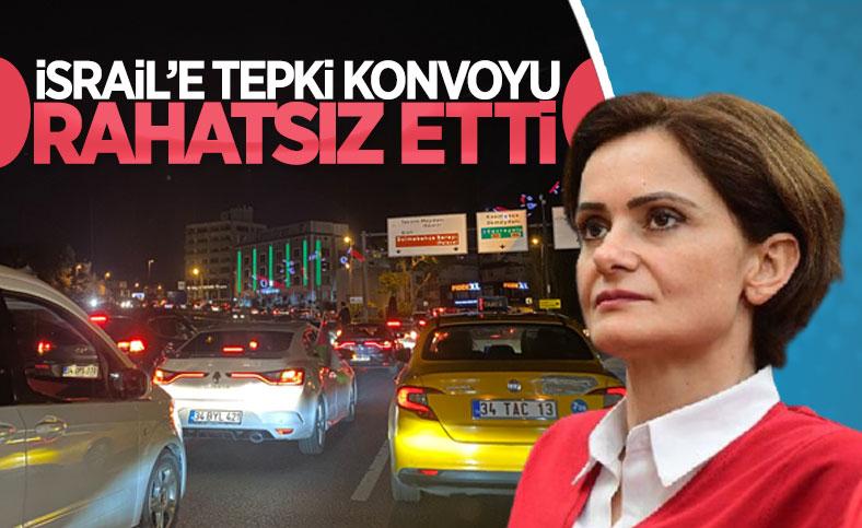 Canan Kaftancıoğlu'ndan İsrail protestolarına tepki