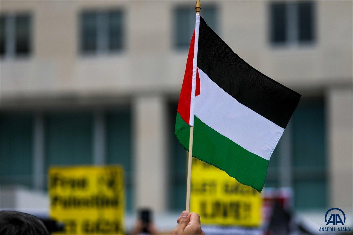 ABD de Filistinli Müslümanlar için destek yürüyüşü #3