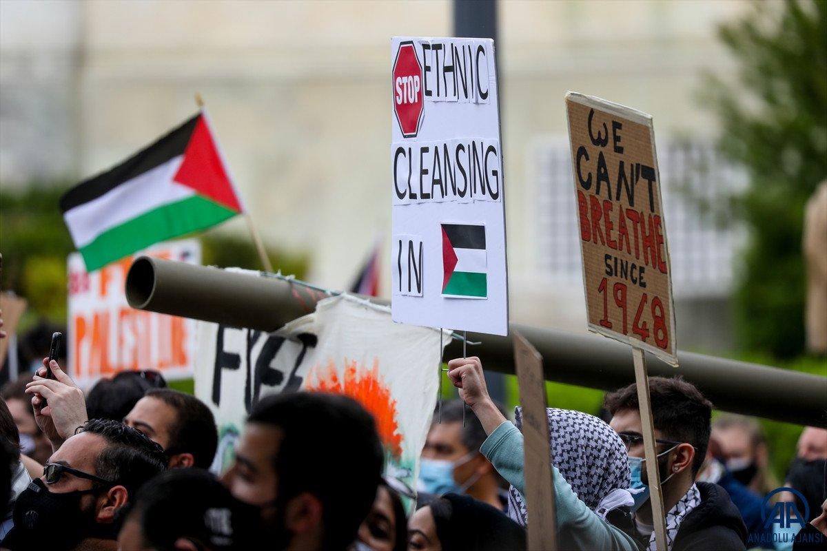 ABD de Filistinli Müslümanlar için destek yürüyüşü #6