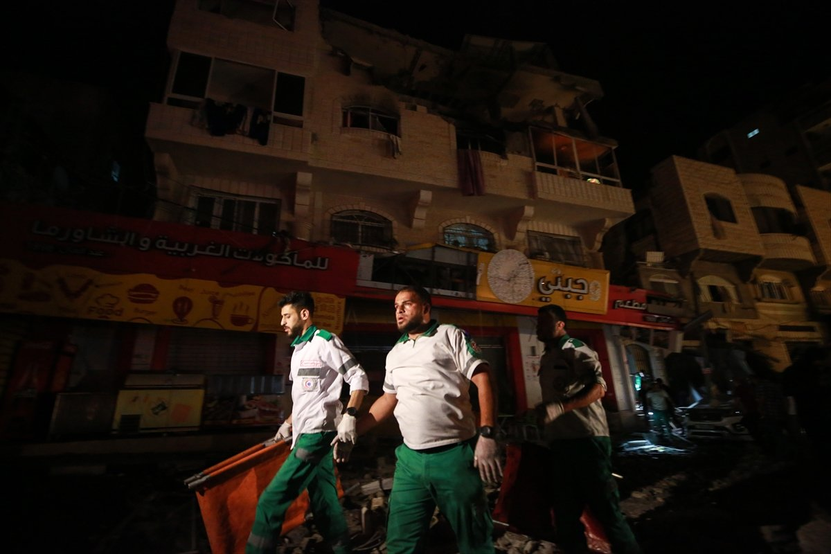 İsrail in Filistin e saldırıları sonrası bilanço ağırlaşıyor #9
