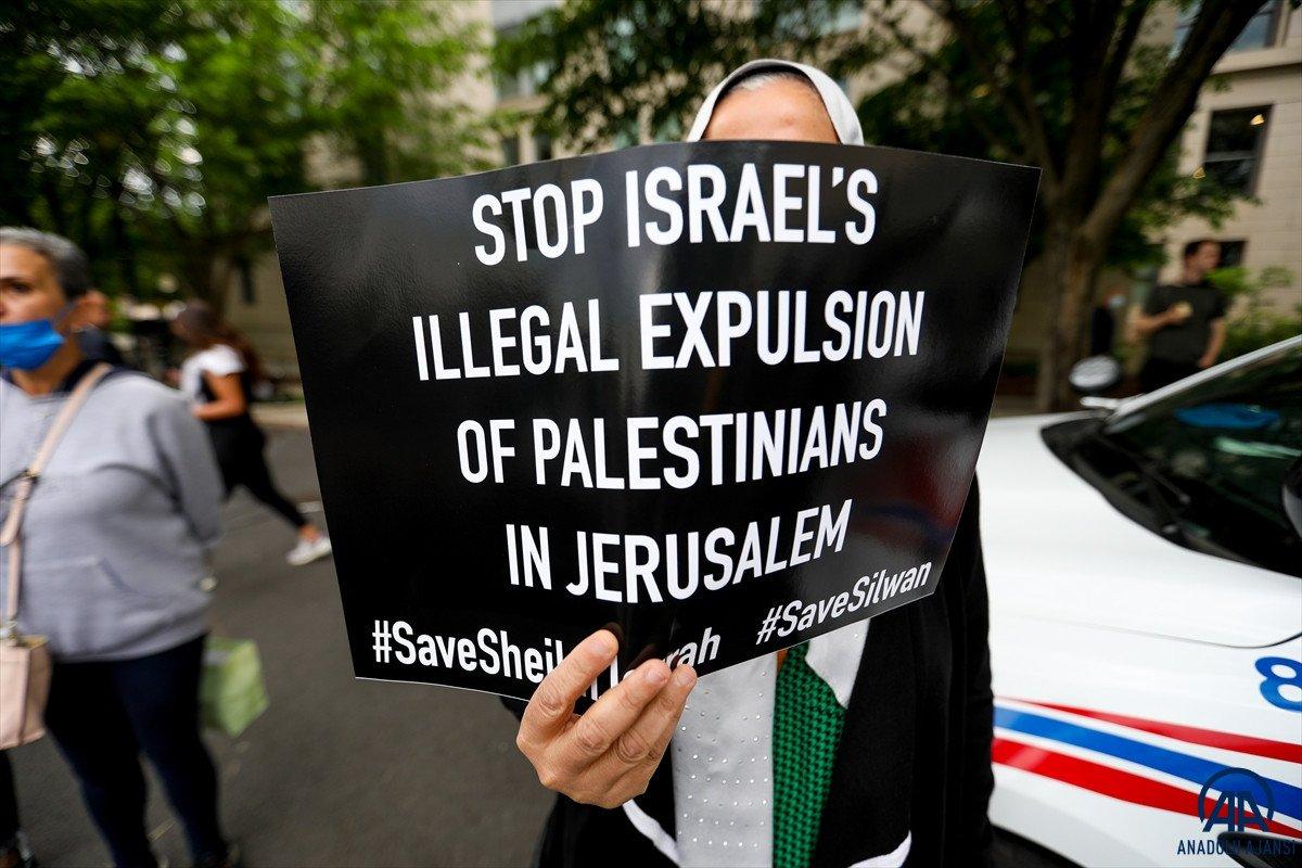 ABD de Filistinli Müslümanlar için destek yürüyüşü #5