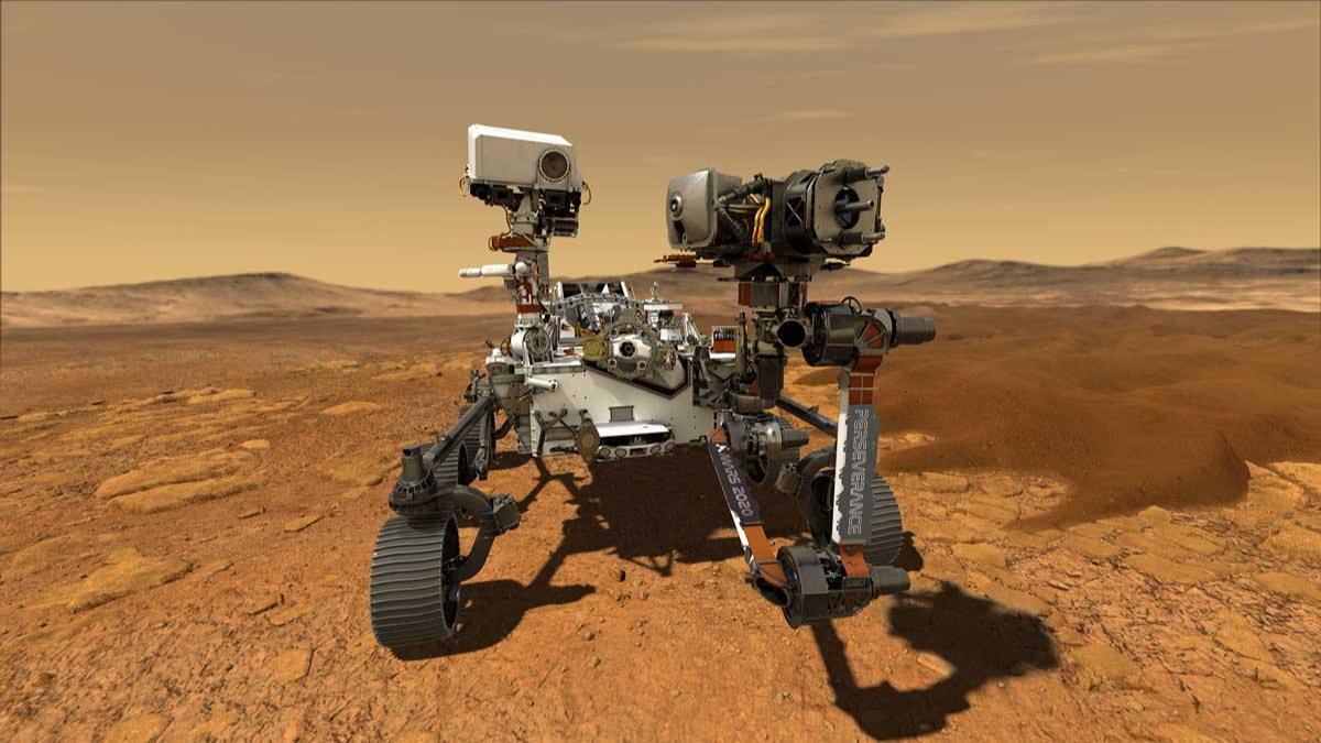 NASAnın Mars aracı Perseverance asıl görevine başladı