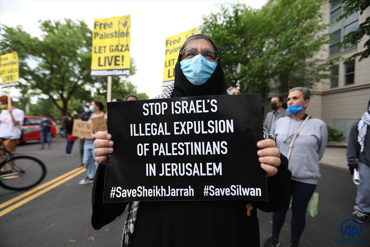 ABD de Filistinli Müslümanlar için destek yürüyüşü #2