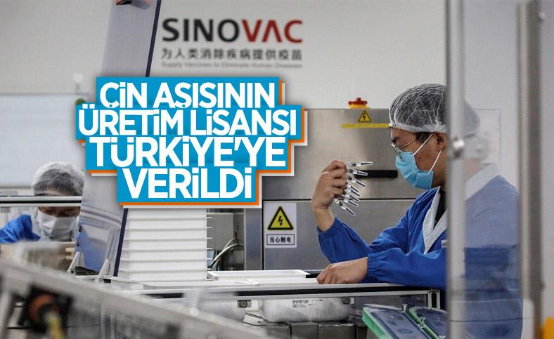 Sinovac: Türkiye'ye koronavirüs aşısı üretme lisansı verdik