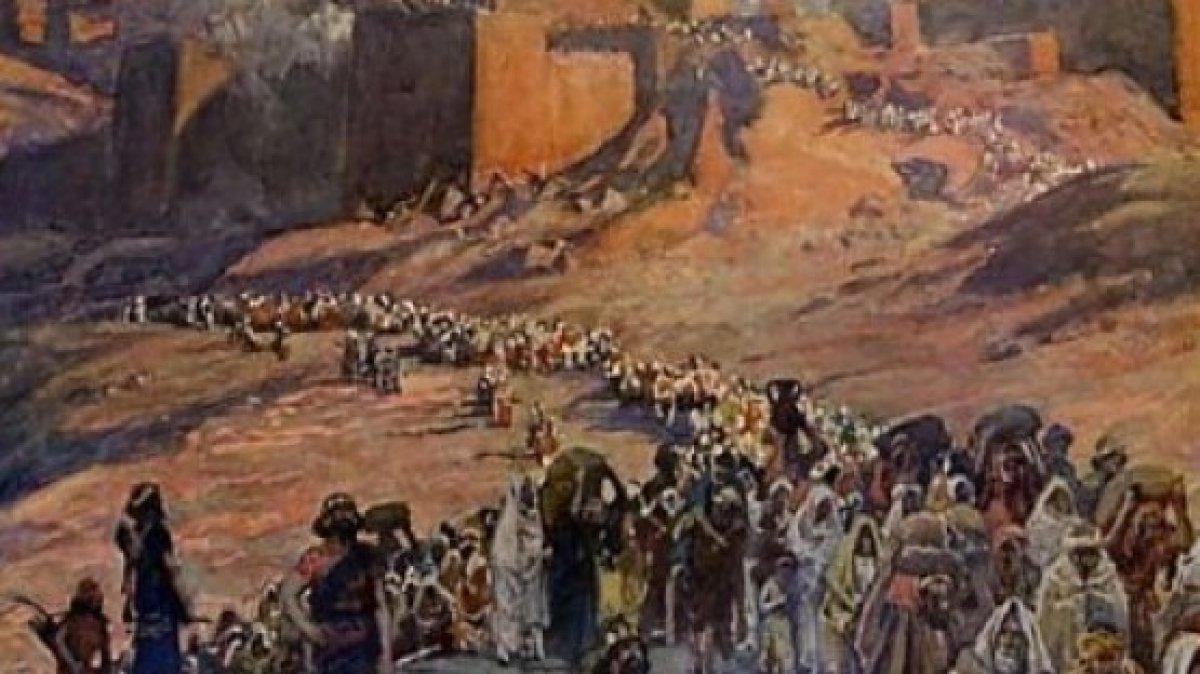 """Vakanüvis yazdı: """"Firavun'un Filistinlileri"""" o devrin Yahudileriydi #1"""