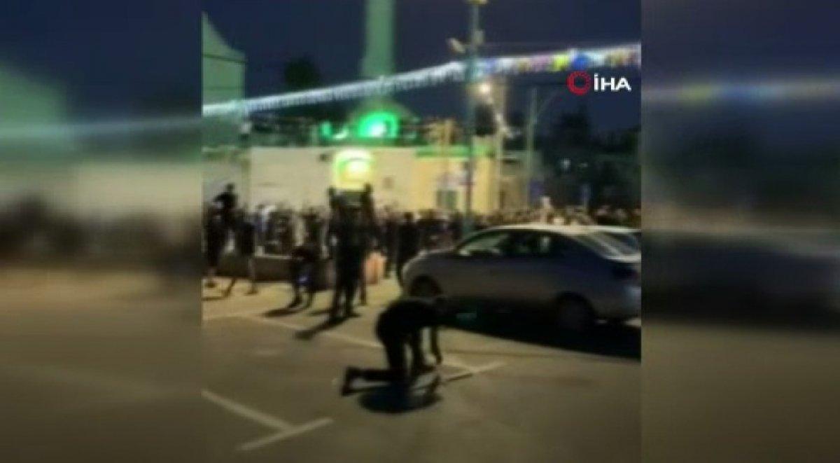 Fanatik Yahudiler Lod kentinde camilere saldırdı #1