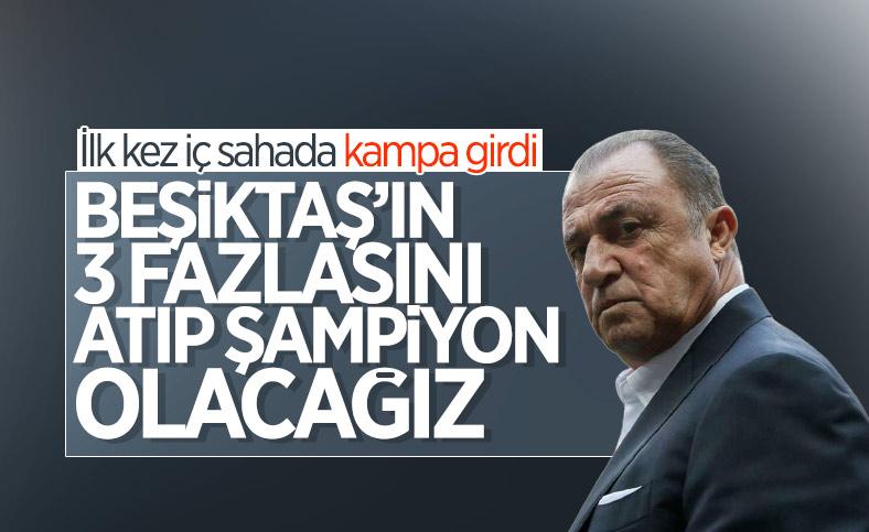 Fatih Terim: Beşiktaş'ın 3 fazlasını atıp şampiyon olacağız