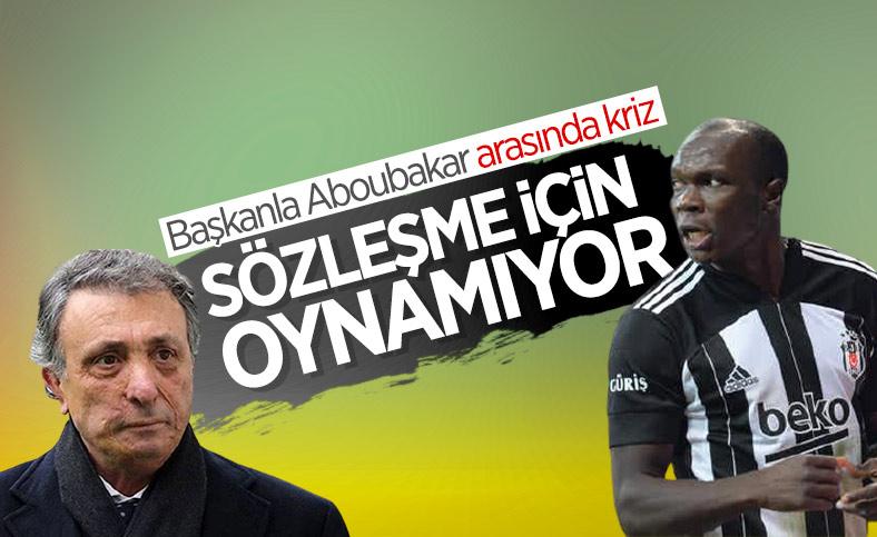Beşiktaş'ta Aboubakar krizi
