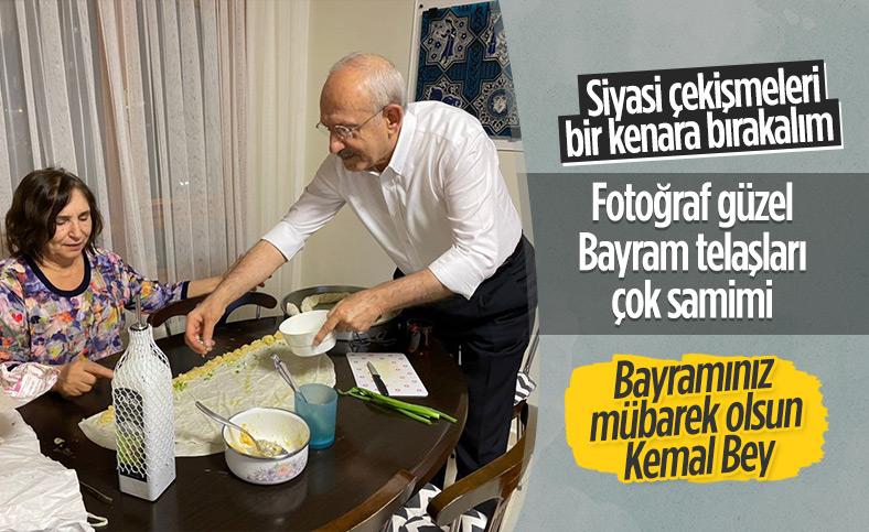 Kemal Kılıçdaroğlu'ndan, bayram hazırlığı paylaşımı