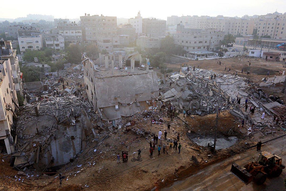 İsrail in Filistin e saldırıları sonrası bilanço ağırlaşıyor #10