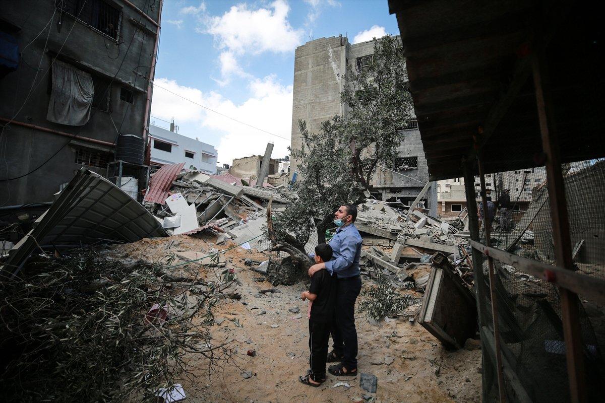İsrail in Filistin e saldırıları sonrası bilanço ağırlaşıyor #13