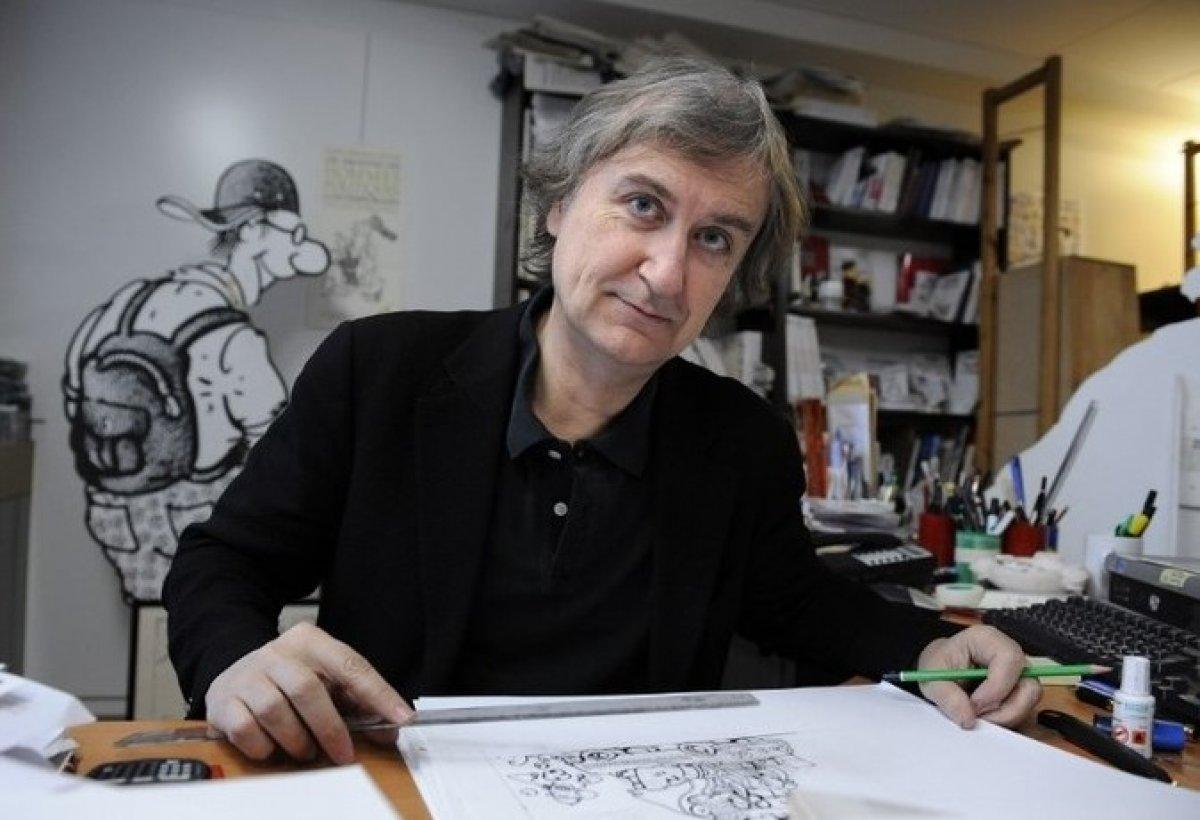 Fransız karikatürist, İsrail in Filistin i işgalini çizdi #3