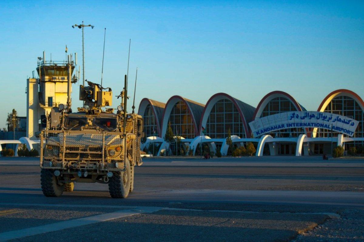 ABD, Afganistan daki Kandahar Hava Üssü nden çekildi #2