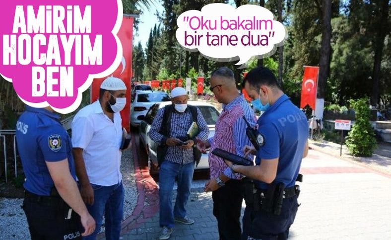Adana mezarlıklarında 'korsan hoca' operasyonu