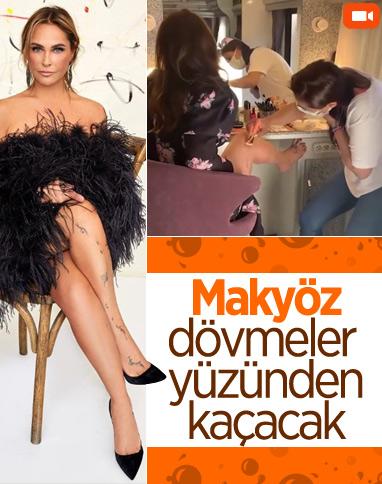 Hülya Avşar, dövmelerini kapattırdığı anları paylaştı
