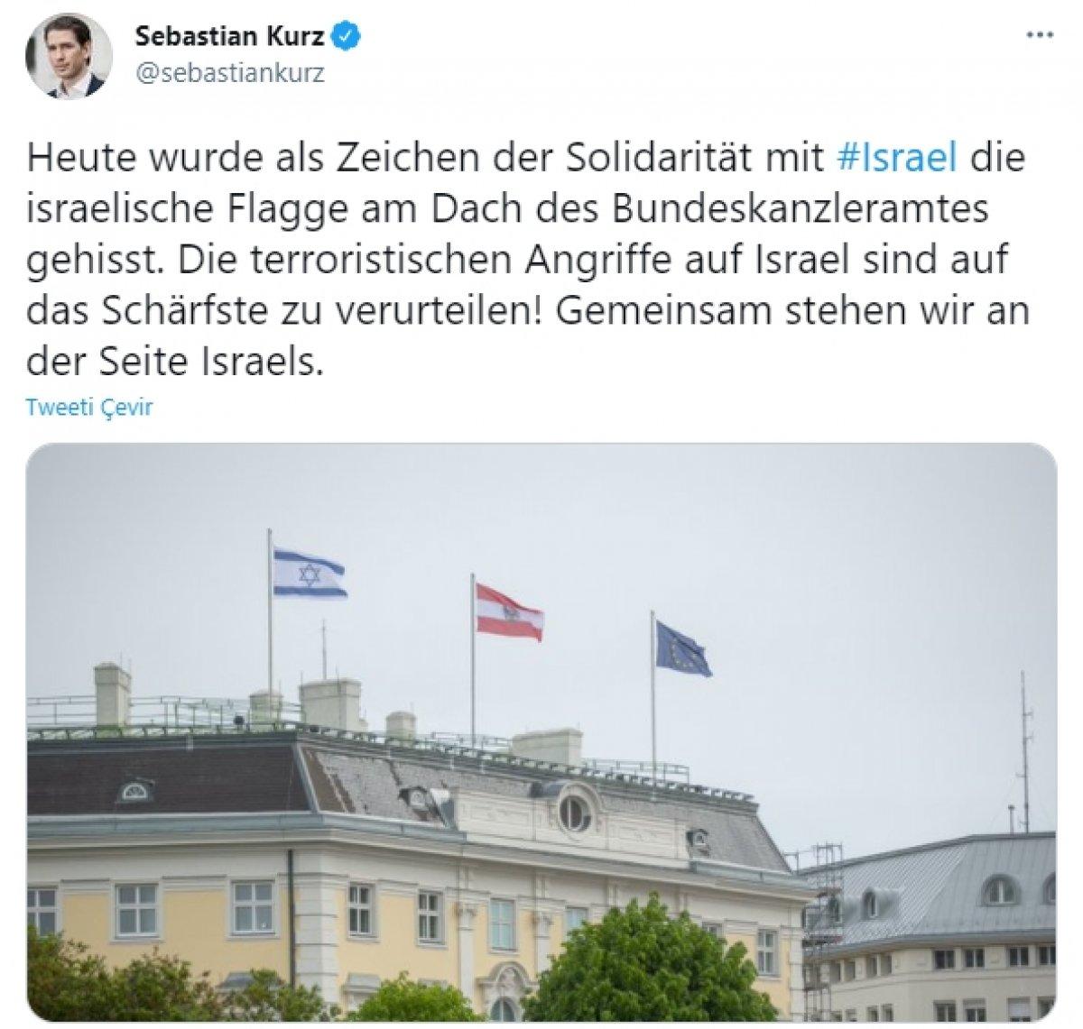 Avusturya'dan İsrail'e açıktan destek  #2