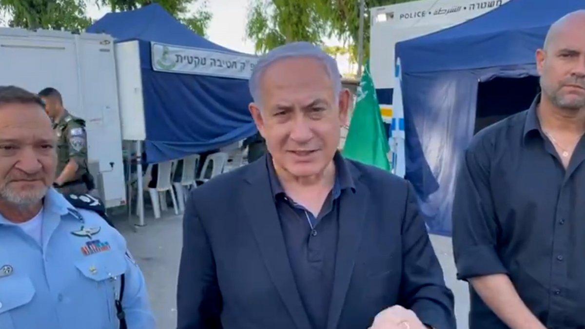 Netanyahu, Gazze ye saldırıların devam edeceğini söyledi #1